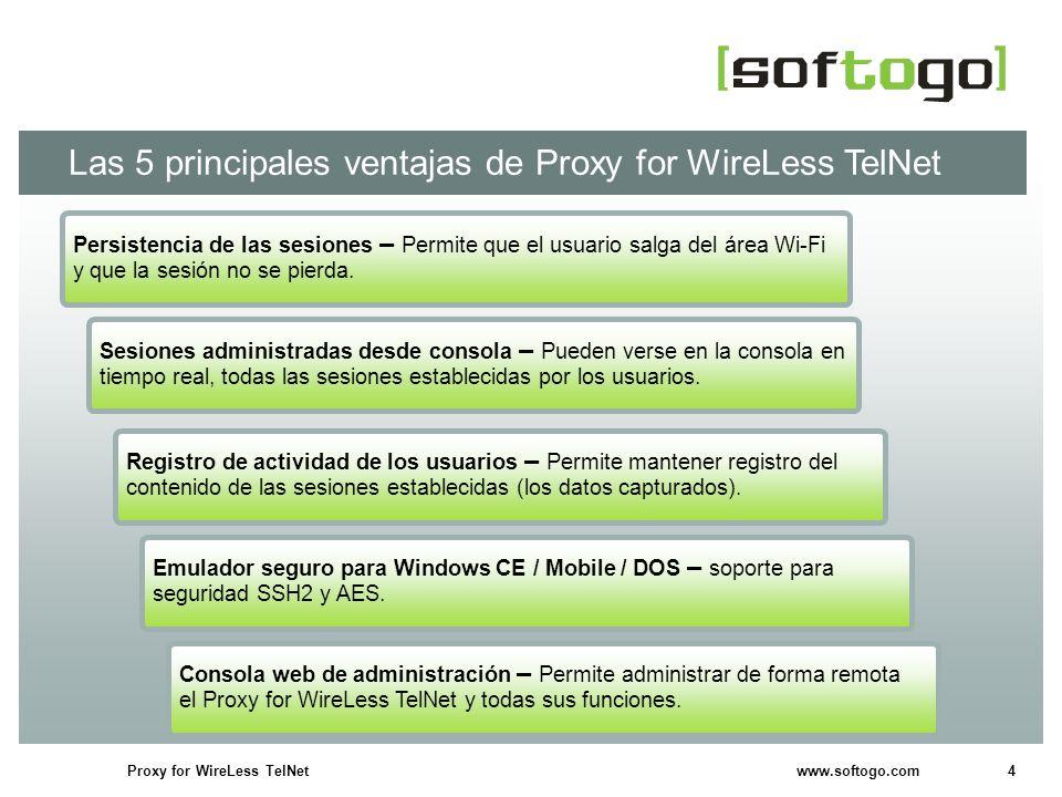 5Proxy for WireLess TelNet www.softogo.com ¿Cómo funciona.