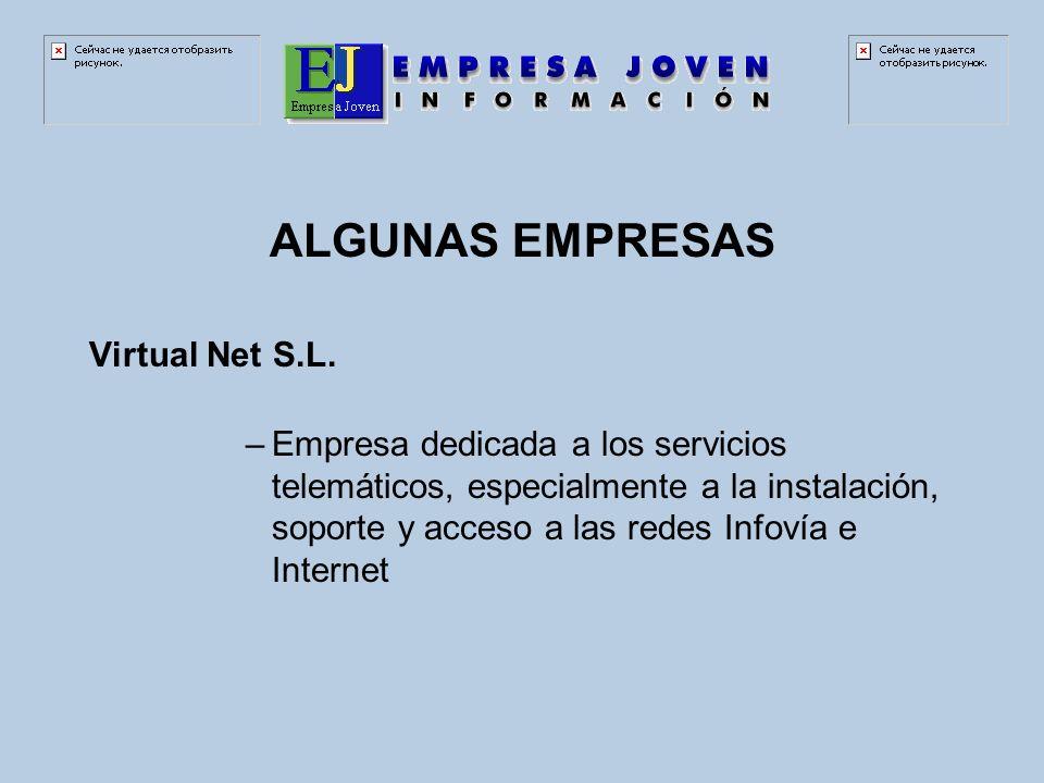 ALGUNAS EMPRESAS Virtual Net S.L.
