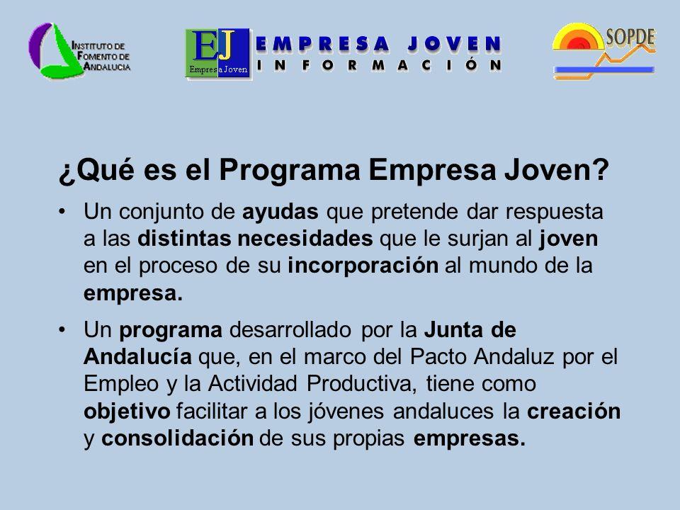 ¿Qué es el Programa Empresa Joven.