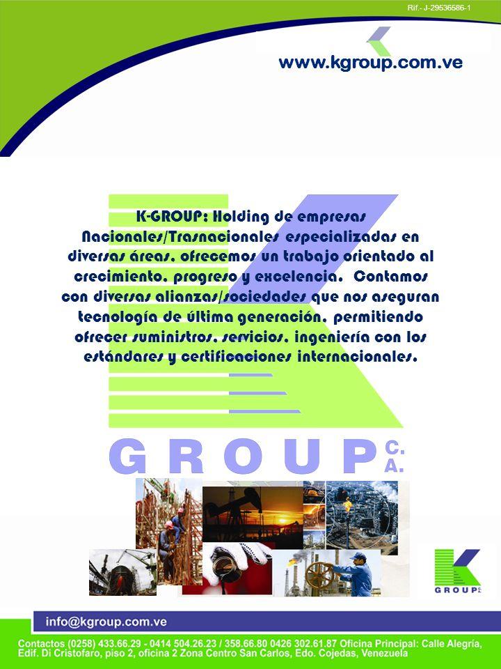 K-GROUP; Holding de empresas Nacionales/Trasnacionales especializadas en diversas áreas, ofrecemos un trabajo orientado al crecimiento, progreso y exc