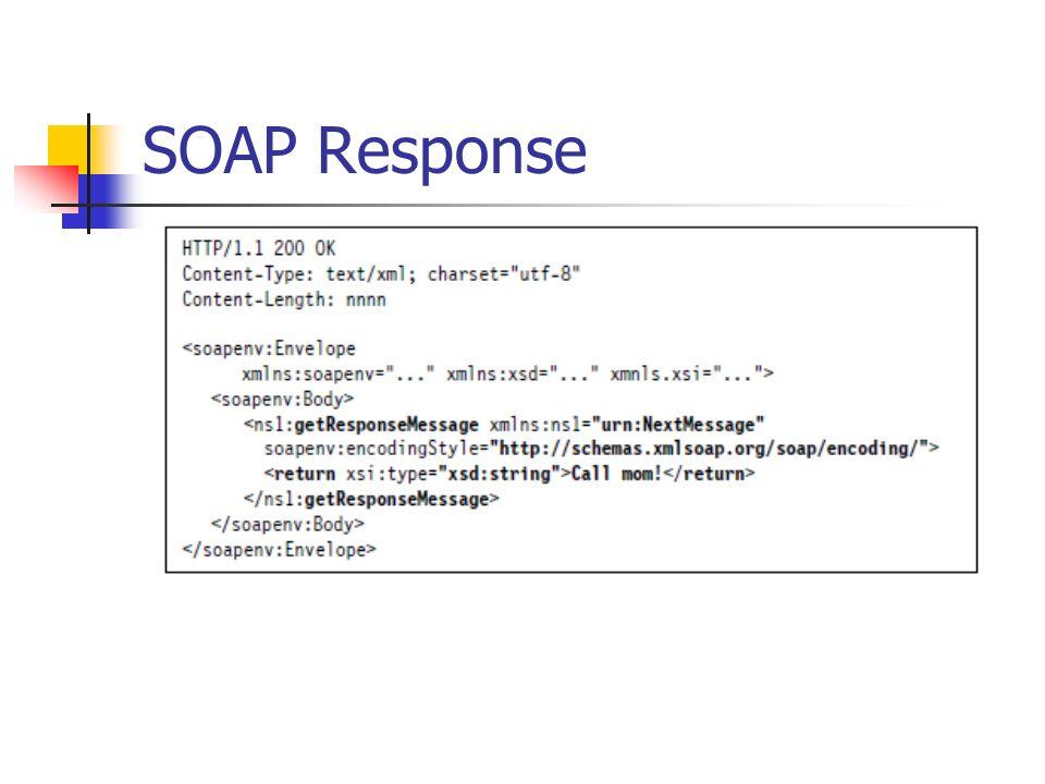 SOAP Response