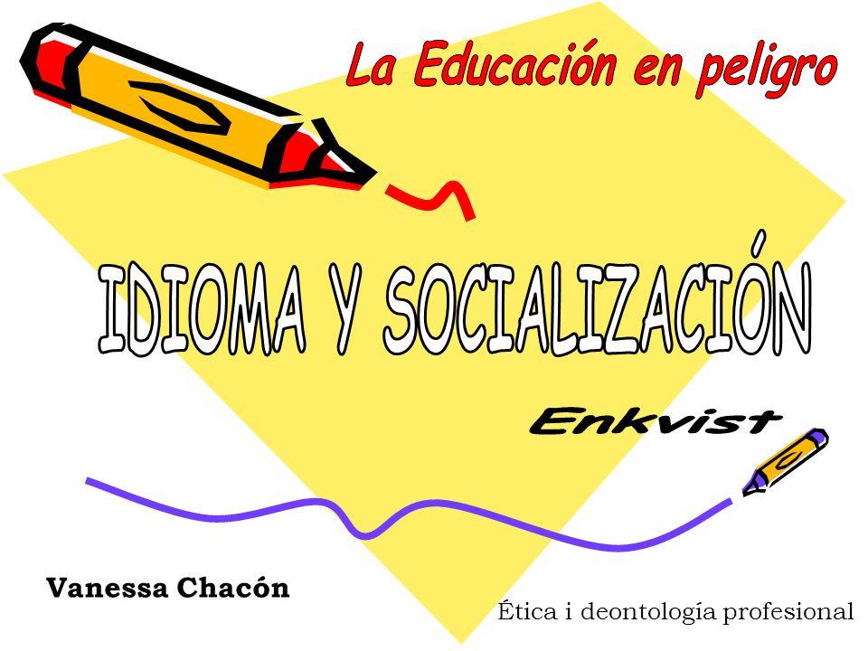 Vanessa Chacón Ética i deontología profesional
