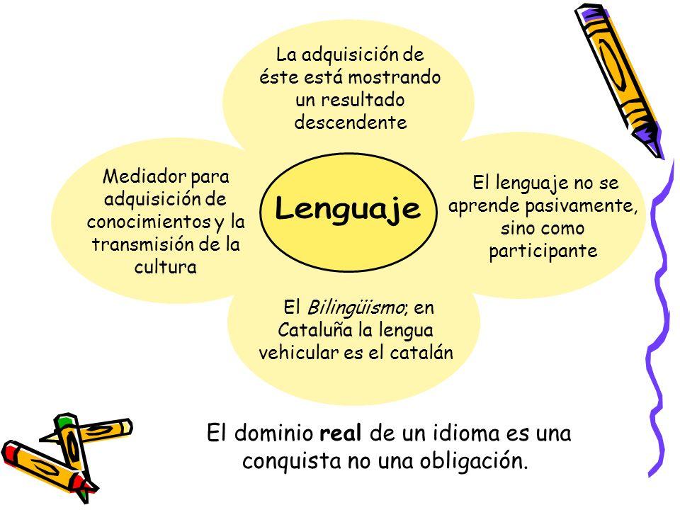 El dominio real de un idioma es una conquista no una obligación.