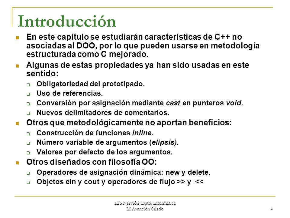 IES Nervión Dpto. Informática M.Asunción Criado 3 1.