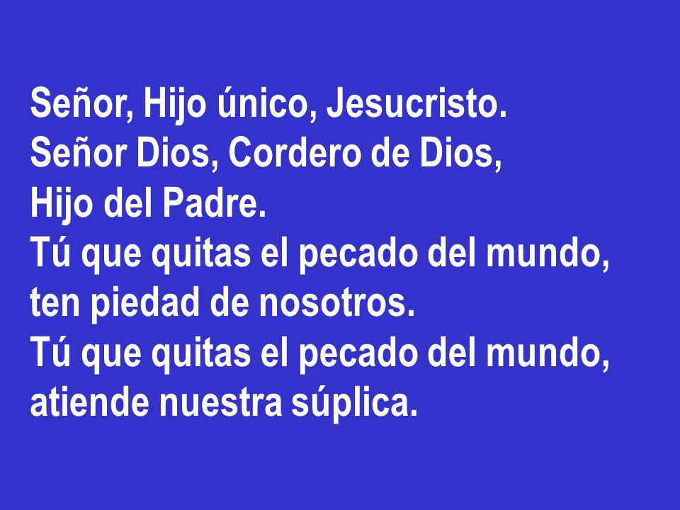 Señor, ayúdanos a ser consecuentes a nuestro bautismo, siempre atentos a tus constantes VENIDAS