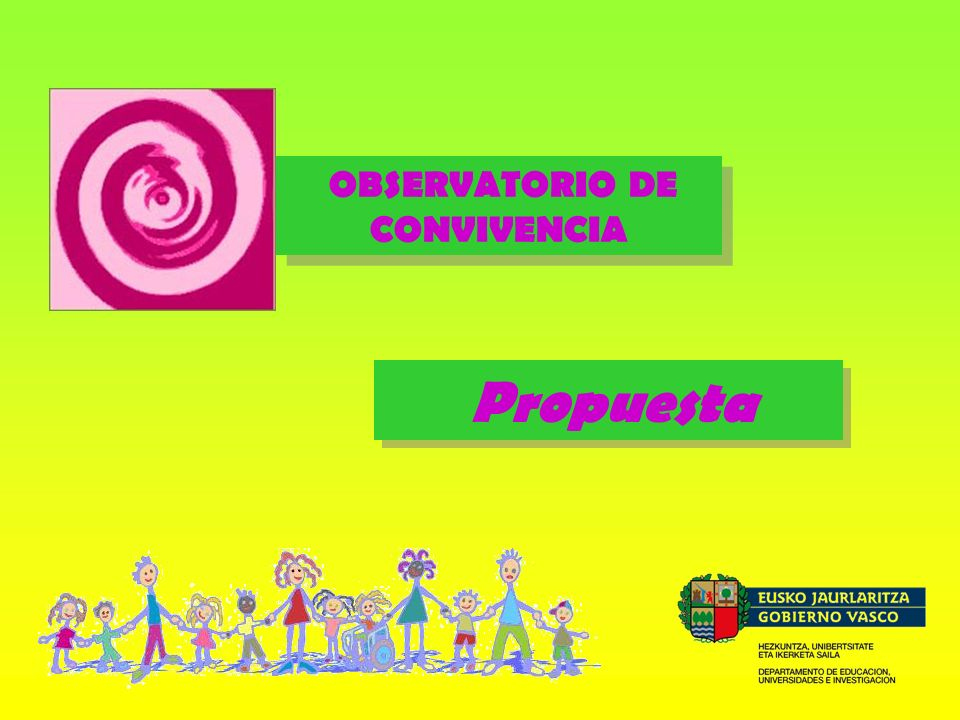 OBSERVATORIO DE CONVIVENCIA Propuesta