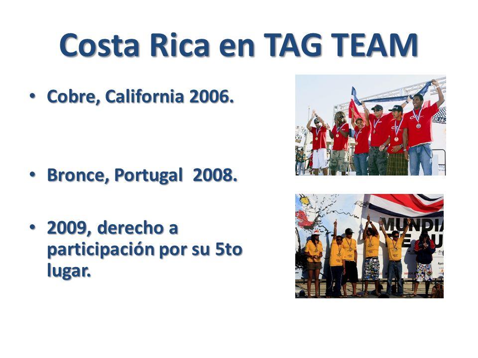Costa Rica en TAG TEAM Cobre, California 2006. Cobre, California 2006.