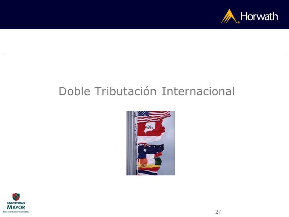 27 Doble Tributación Internacional