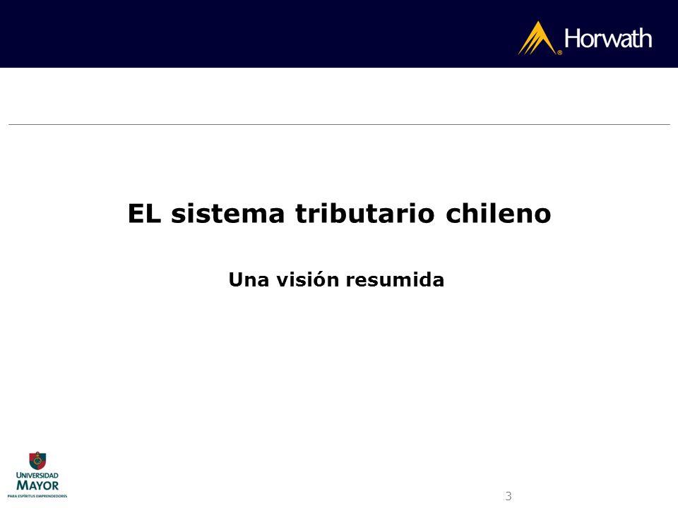 3 EL sistema tributario chileno Una visión resumida