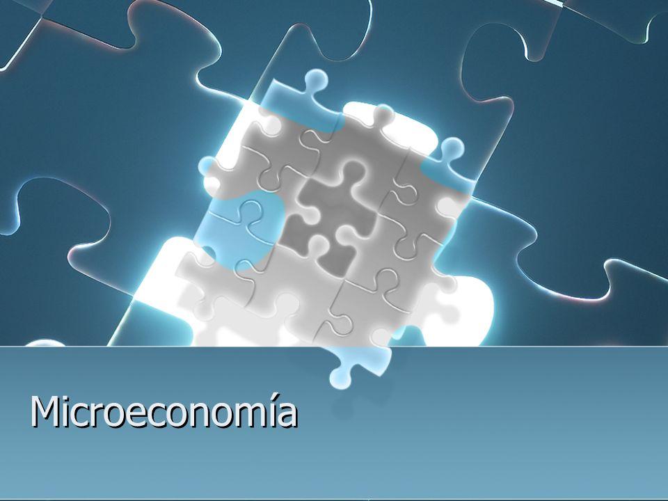 La microeconomía estudia el comportamiento individual de los agentes económicos, principalmente las empresas y los consumidores.