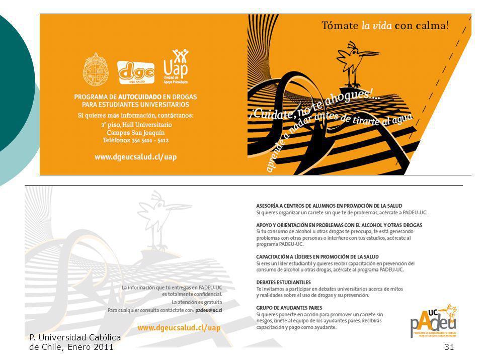 P. Universidad Católica de Chile, Enero 201131
