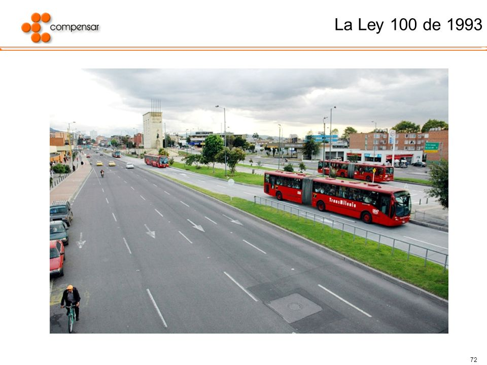 72 La Ley 100 de 1993