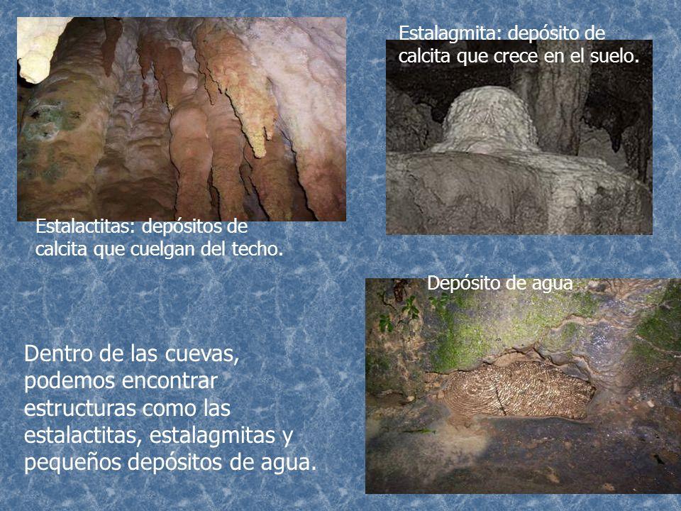 Esta es la entrada natural al sistema de cavernas.