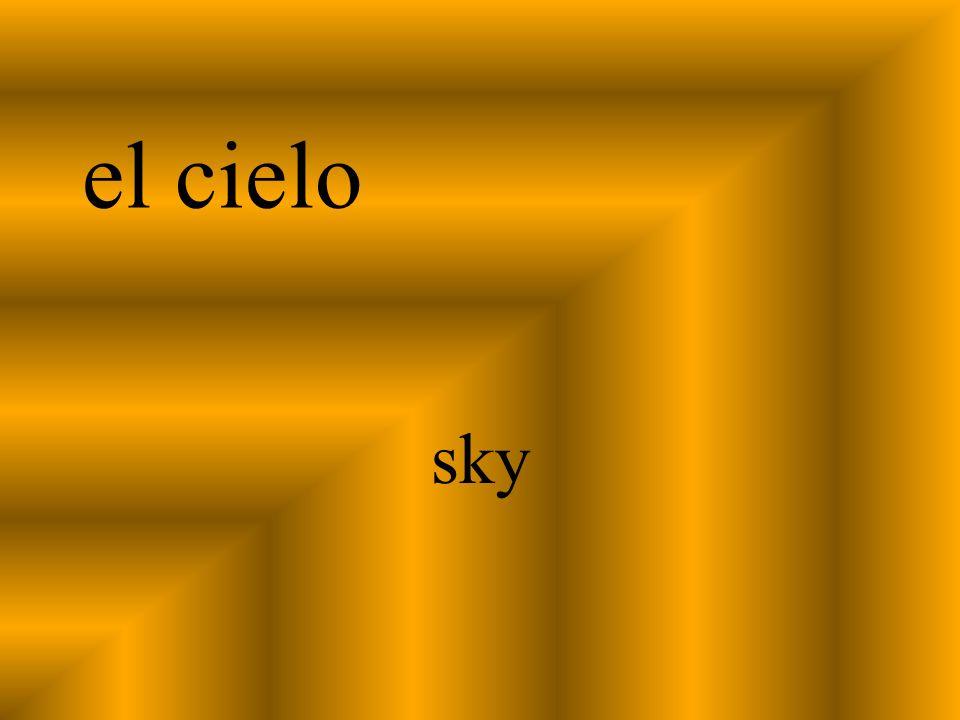 el cielo sky