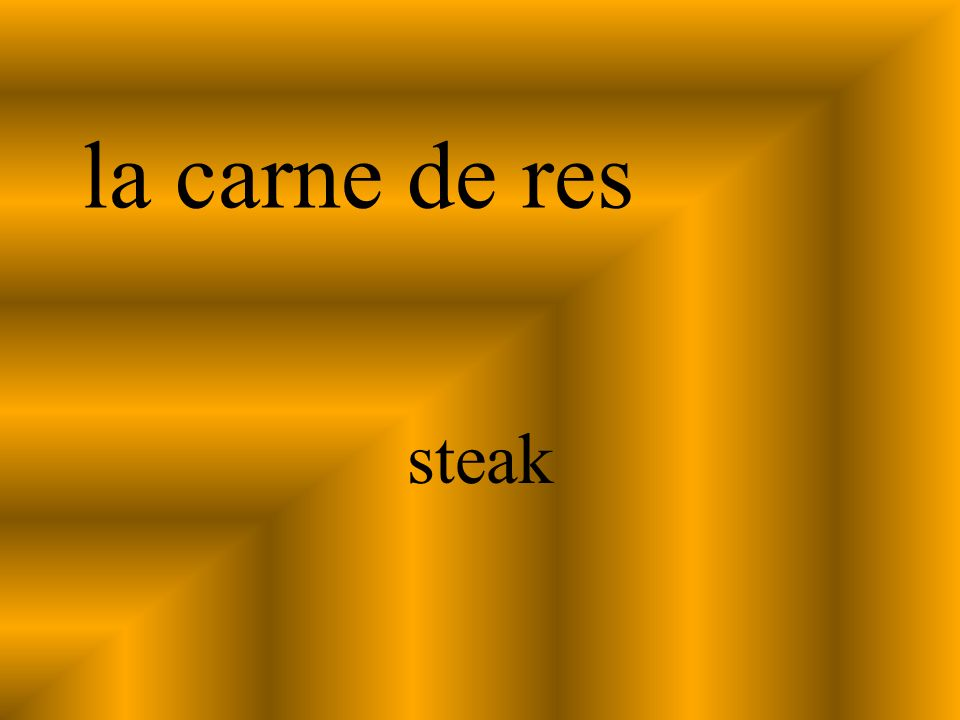 la carne de res steak