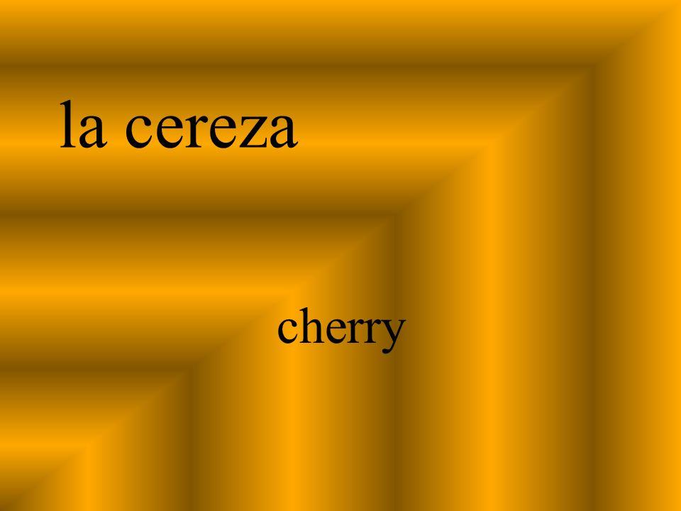 la cereza cherry