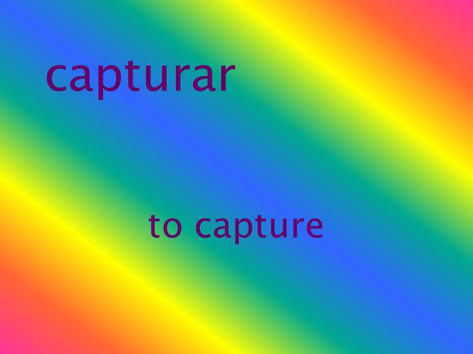 capturar to capture