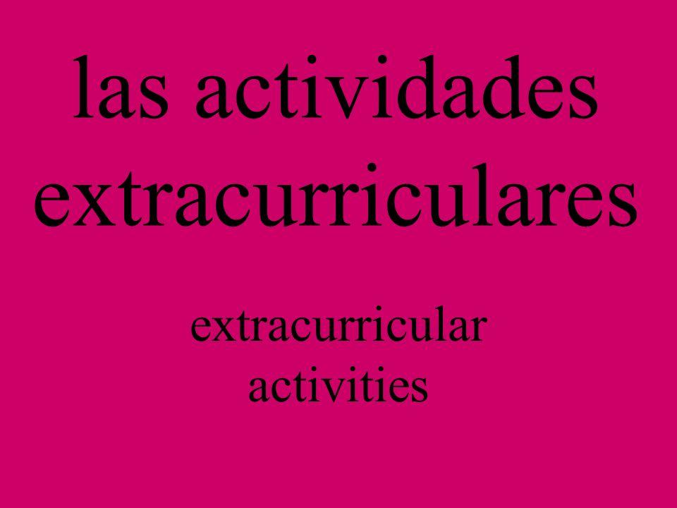 Tema 1-B Vocabulary P. 46