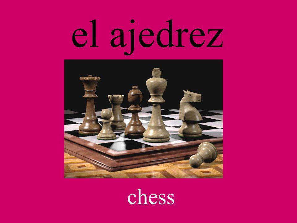 el ajedrez chess
