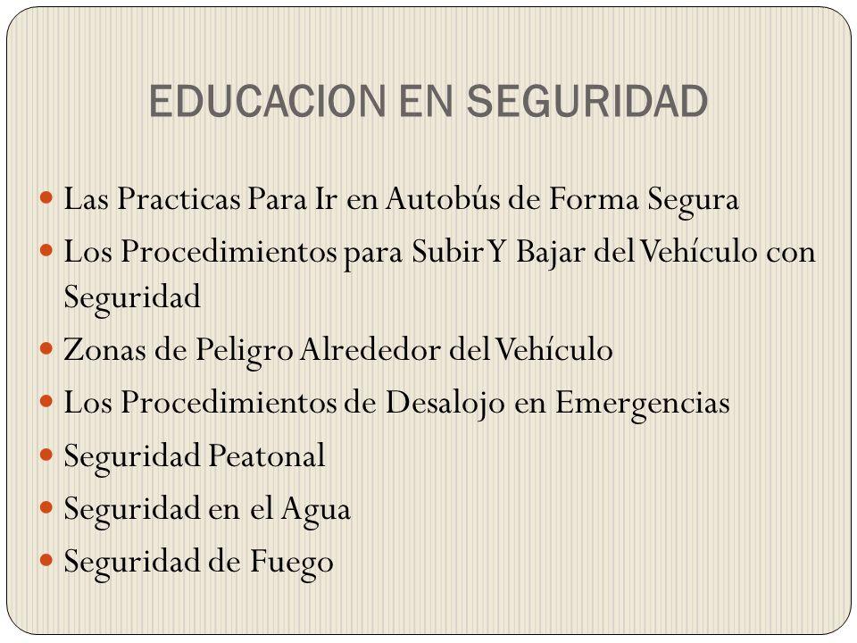 Los Procedimientos de Desalojo en Emergencias Los accidentes del autobús escolar pueden suceder en cualquier lugar o implicar a cualquier persona.