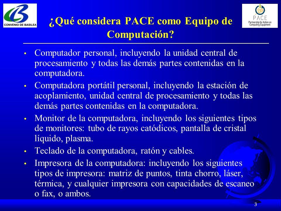 4 ¿Qué hay en el Documento Guía sobre el Manejo Ambientalmente Responsable de Equipos de Computación Usados y al Final de su Vida Util.