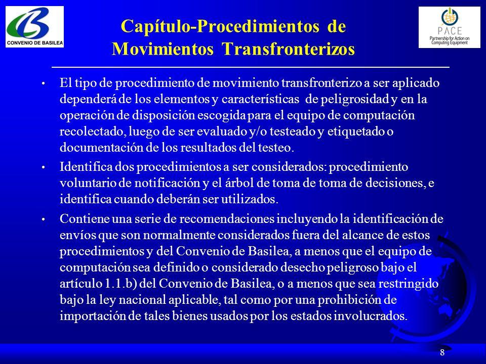 9 Capítulo-Testeo, Reparación y Reacondicionamiento Provee una guía aplicable a instalaciones de reacondicionamiento.