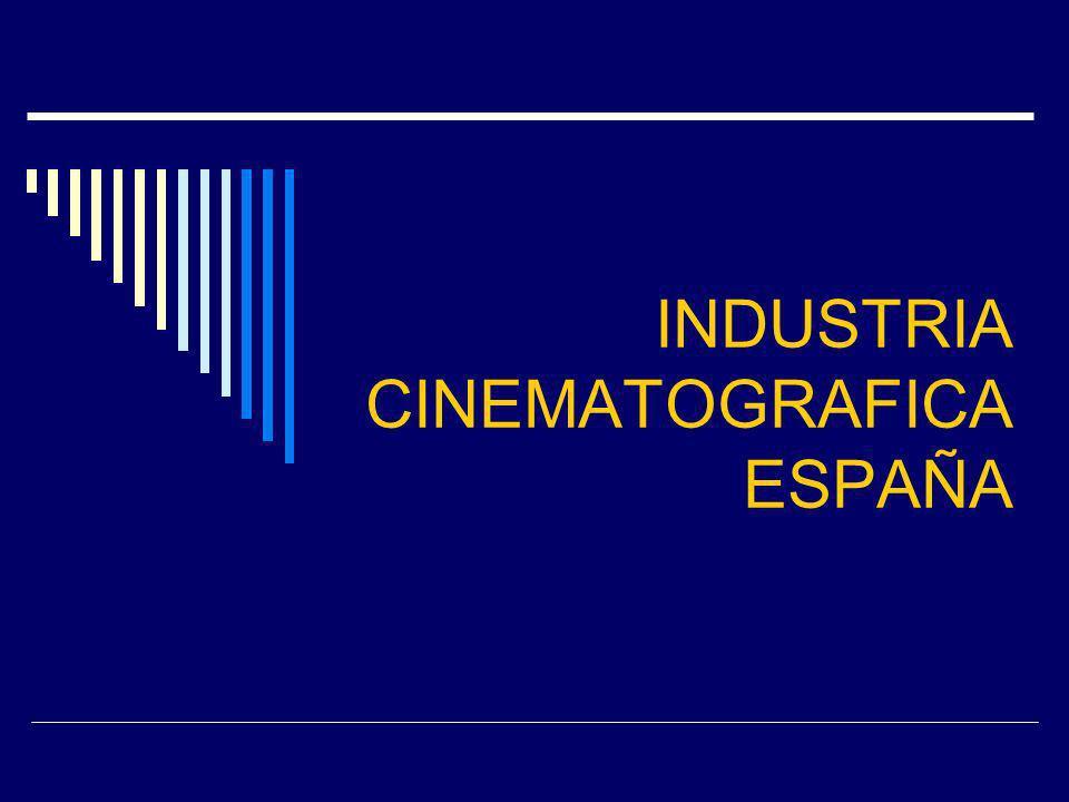 INDUSTRIA CINEMATOGRAFICA ESPAÑA