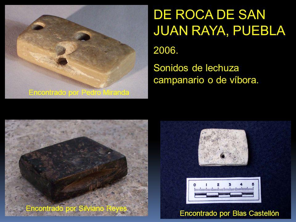 SILBATO DE BOCA DE CERAMICA De la Rivera del lago de Chapala Museo Regional de Guadalajara Tienen 30 similares de hueso y cerámica, en bodegas