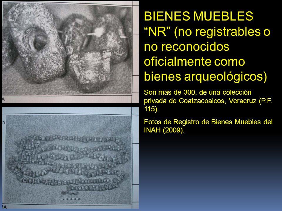 PEQUEÑOS BLOQUES DE USO DESCONOCIDO Colocados como collar. De Sala del Golfo del Museo Nacional de Antropología