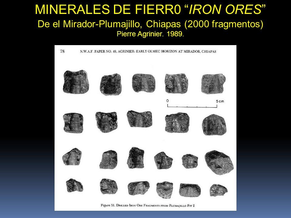 ORIGEN DESCONOCIDO Fernando Ortega, geólogo de la UNAM, me informó que el material de una roca de San Lorenzo que analizó es nelsonita (ilmenita±apati