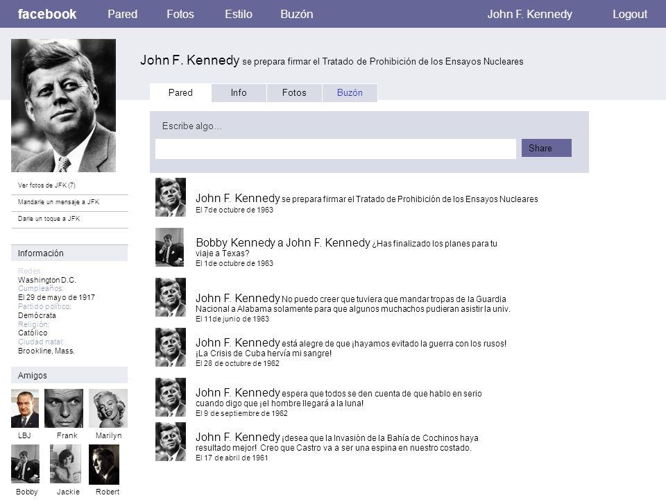 facebook John F. Kennedy se prepara firmar el Tratado de Prohibición de los Ensayos Nucleares ParedFotosEstiloBuzónJohn F. KennedyLogout Ver fotos de