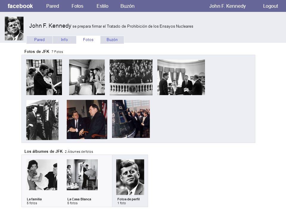 facebook ParedFotosEstiloBuzónJohn F. KennedyLogout ParedInfoFotosBuzón Fotos de JFK 7 Fotos Los álbumes de JFK 2 Álbumes de fotos La familia 5 fotos