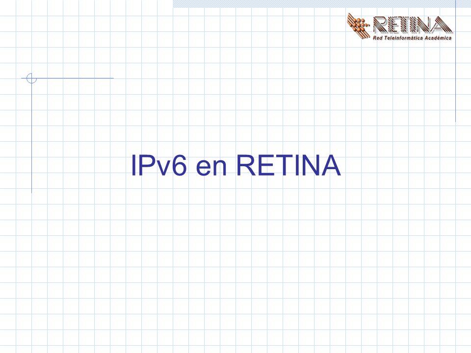 IPv6 en RETINA