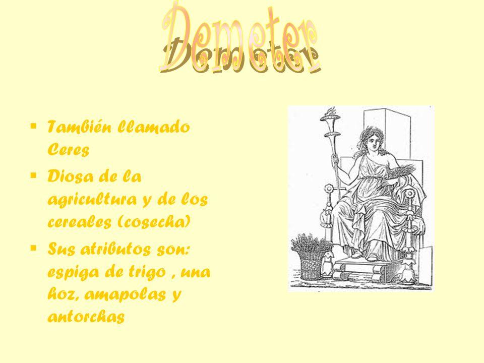 - Es patrona de Atenas Por los romanos es llamada Minerva Es diosa de la sabiduría, la artesanía, de la guerra inteligente, y es protectora de Atenas Sus atributos son: casco, lanza, escudo, lechuza y olivo.
