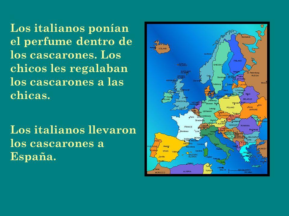 Los españoles llevaron los cascarones a México en los años 1800.