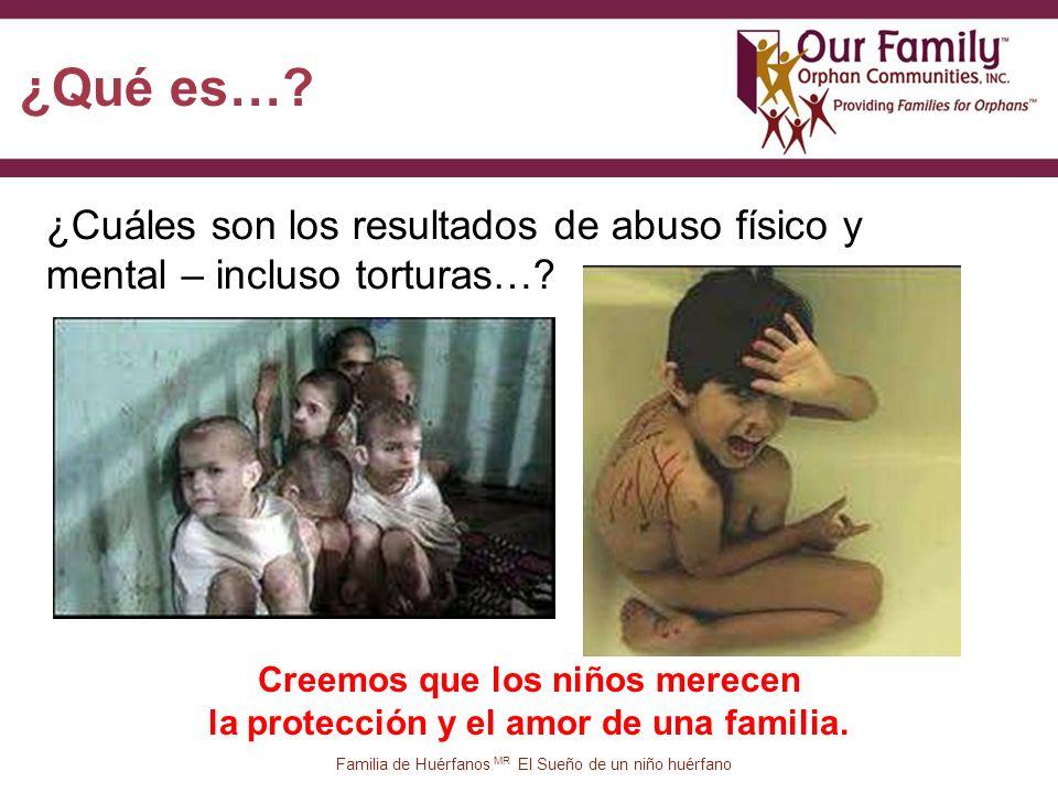 16 ¿Cuáles son los resultados de abuso físico y mental – incluso torturas….