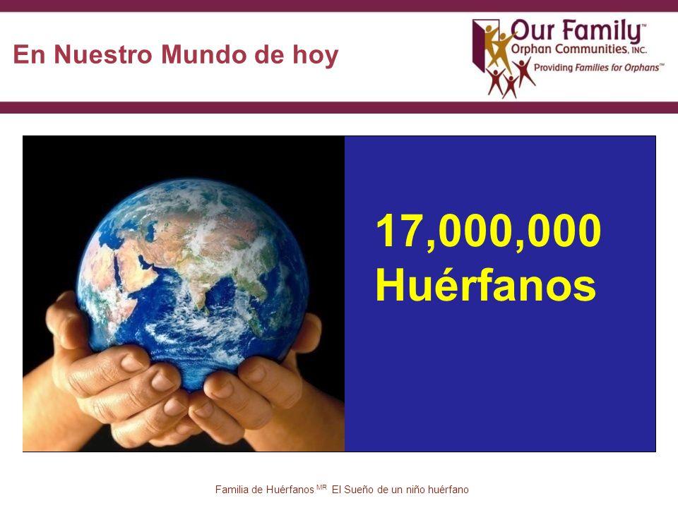 17 17,000,000 Huérfanos En Nuestro Mundo de hoy Familia de Huérfanos MR El Sueño de un niño huérfano