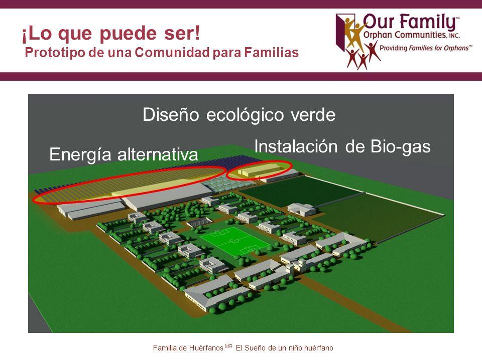 25 Energía alternativa Instalación de Bio-gas Diseño ecológico verde ¡Lo que puede ser.