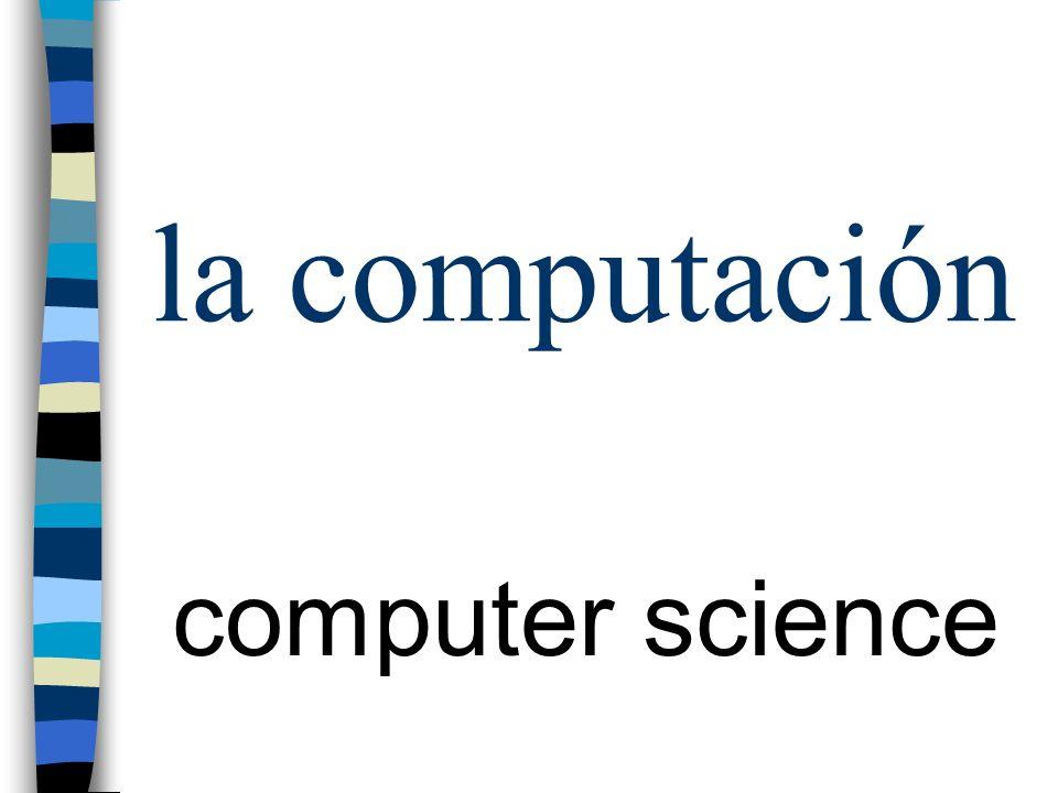 la computación computer science