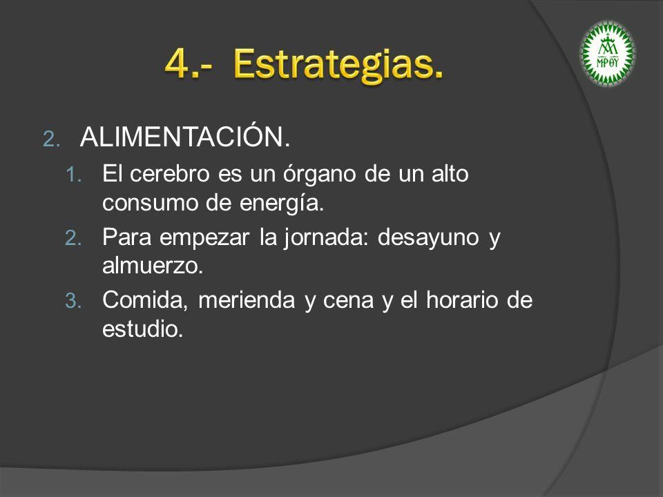 3.DESCANSO: 1. Necesario para reponer energías consumidas en el estudio y en el crecimiento.