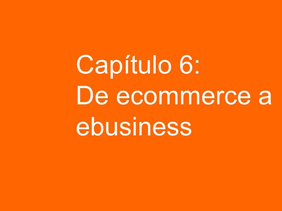 Capítulo 6: De ecommerce a ebusiness