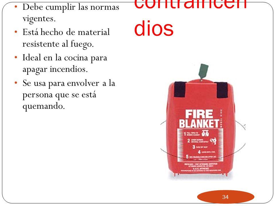 NEGRO Indicata extintor de dióxido de carbono (CO2). Se usa en incendios de tipo B e incendios de aparatos eléctricos. 33