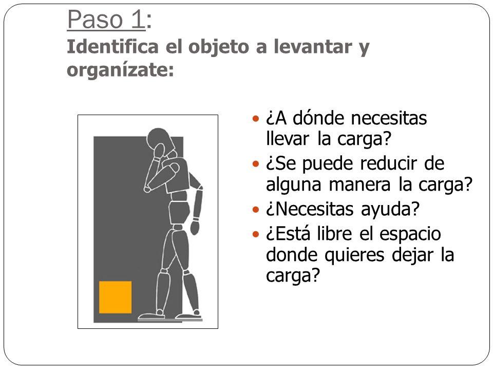 : 43 Se define como el traslado o sustención de una carga con las manos o con fuerza corporal. Incluye: Levantamiento Transporte Descarga Empuje Trasl