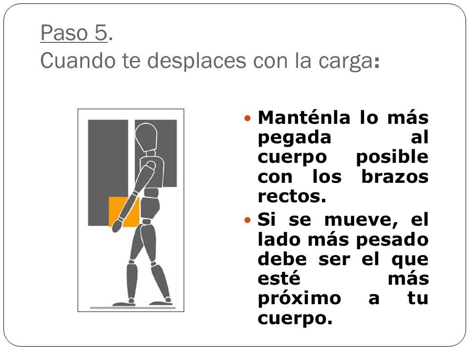 Paso 4: Ya estás preparado para levantar el peso: Coloca los brazos en el ángulo que forman las piernas. Coloca las manos en la posición adecuada. Lev