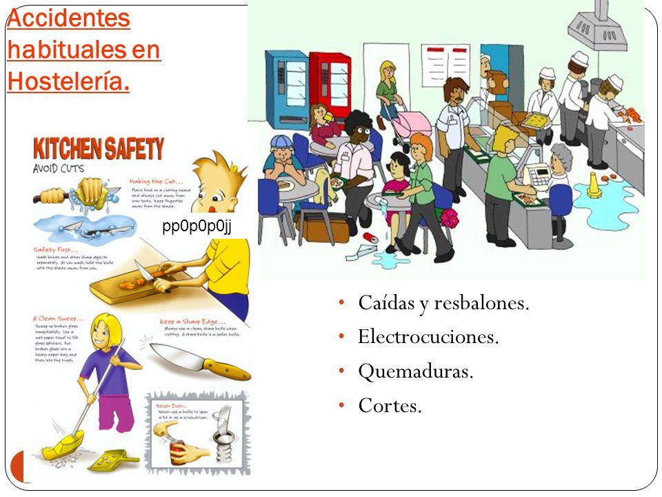 Las consecuencias de los accidentes en el trabajo son: 6 Personal de baja hasta recuperarse. Interrupción de la producción. Daños a la maquinaria y co