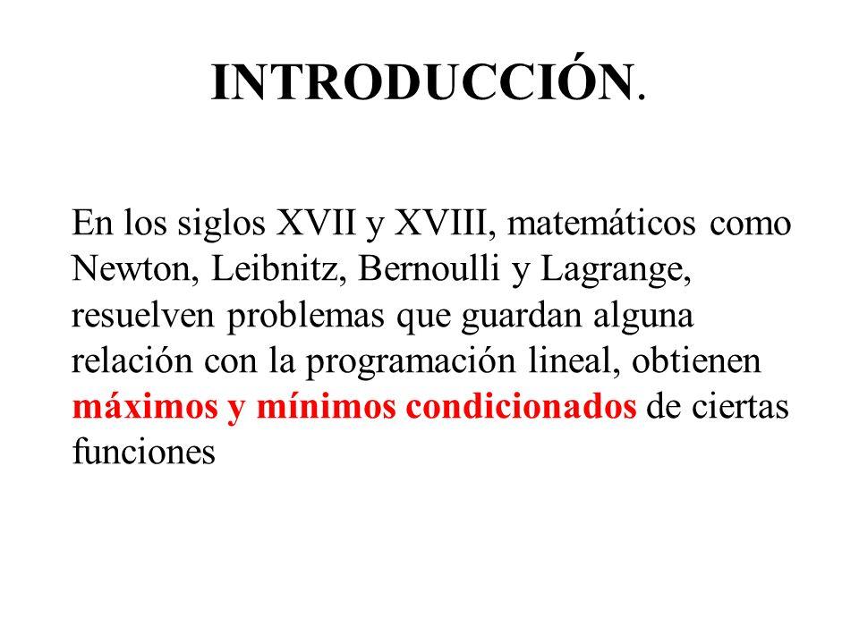Se puede demostrar que la función objetivo z, alcanza su valor máximo y mínimo en alguno de los vértices de la región factible.