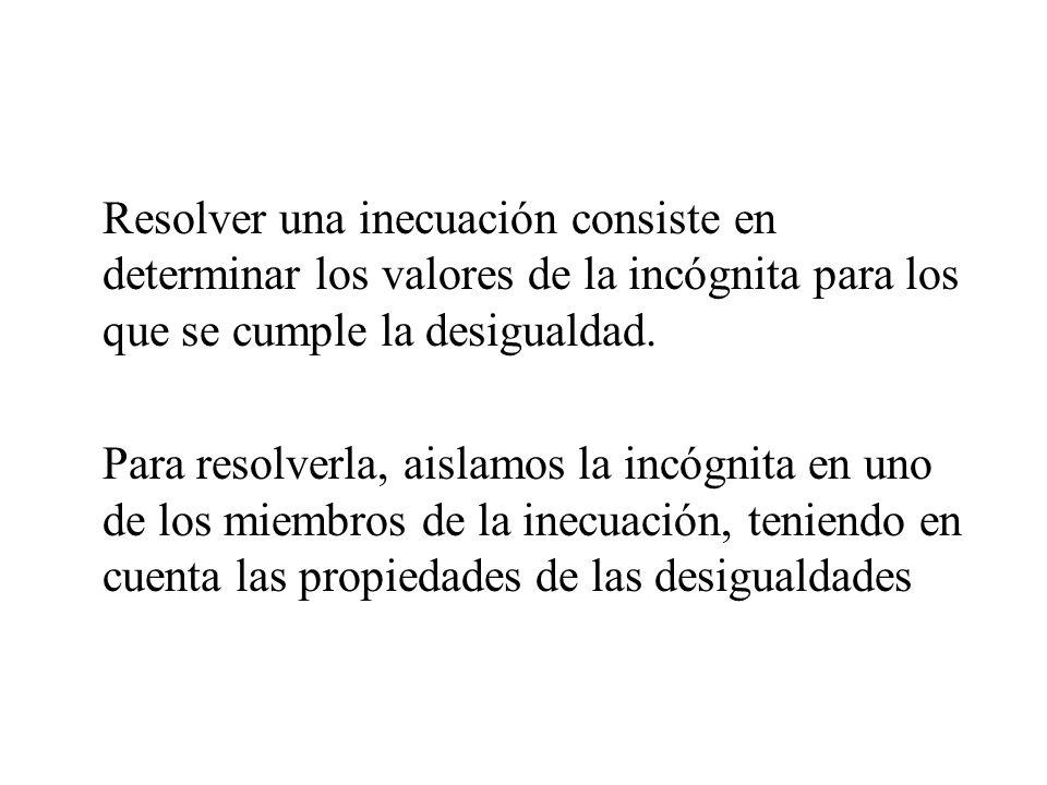 A continuación expresamos las restricciones en forma de desigualdad.