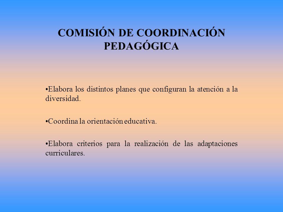ÓRGANOS DE COORDINACIÓN DOCENTE COMISIÓN DE COORDINACIÓN PEDAGÓGICA (CCP) UNIDAD DE APOYO EDUCATIVO (UAE) EQUIPO DE CICLO TUTORÍAS