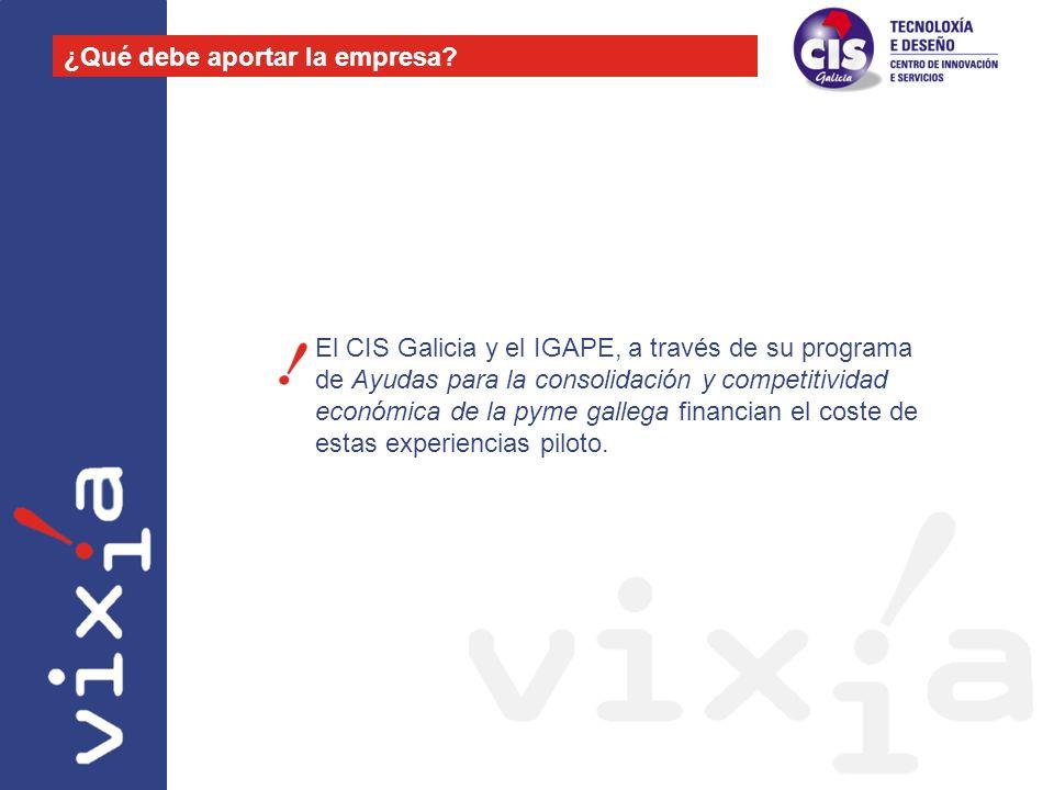 El CIS Galicia y el IGAPE, a través de su programa de Ayudas para la consolidación y competitividad económica de la pyme gallega financian el coste de