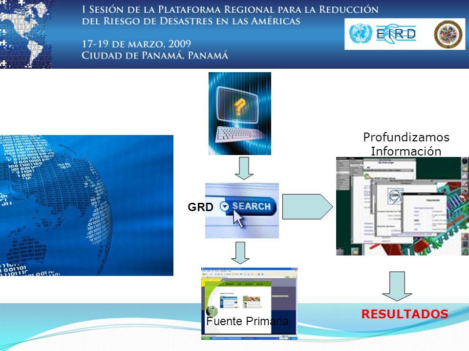 GRD Fuente Primaria Profundizamos Información RESULTADOS